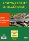 Pierre Couveinhes - Responsabilité & environnement N° 75, Juillet 2014 : Transports terrestres et développement économique.