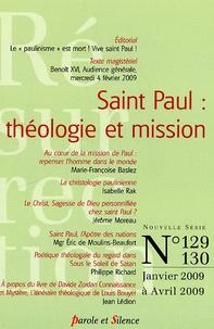 Michel Gitton - Résurrection N° 129-130, Janvier : Saint Paul : théologie et mission.