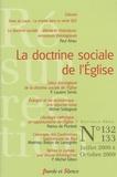 Paul Airiau et Laurent Sentis - Résurrection N° 132/133, Juillet : La doctrine sociale de l'Eglise.