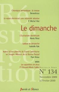Alexis Pérot et Isabelle Rak - Résurrection N° 134, Novembre 200 : Le dimanche.