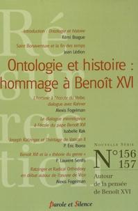 Michel Gitton - Résurrection N° 156-157 : Ontologie et histoire : hommage à Benoît XVI.