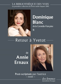 Annie Ernaux - Retour à Yvetot. 1 CD audio MP3