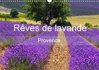 Juergen Feuerer - Rêves de lavande - Provence (Calendrier mural 2020 DIN A3 horizontal) - Champs de lavande de différentes régions de Provence (Calendrier mensuel, 14 Pages ).