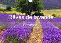 Juergen Feuerer - Rêves de lavande - Provence (Calendrier mural 2020 DIN A4 horizontal) - Champs de lavande de différentes régions de Provence (Calendrier mensuel, 14 Pages ).