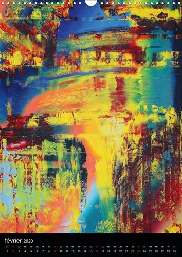 Rêves multicolores (Calendrier mural 2020 DIN A3 vertical). Art abstrait multicolore (Calendrier mensuel, 14 Pages )