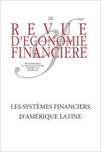 Vincent Caupin et Nicolas Meisel - Revue d'économie financière N° 124, décembre 201 : Les systèmes financiers d'Amérique latine.