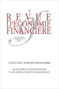 AEF - Revue d'économie financière N° 125, 1er trimestr : L'Europe après 60 ans.