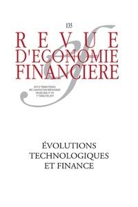 Thierry Walrafen - Revue d'économie financière N° 135, 2019-3 : Technologies et mutations de l'activité financière.