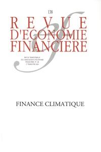 AEF - Revue d'économie financière N° 138, 2e trimestre : Finance climatique.