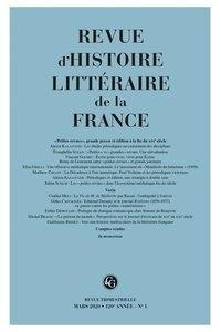 Alain Génetiot - Revue d'histoire littéraire de la France N° 1, janvier-mars 2 : Petites revues, grande presse et édition à la fin du XIXe siècle.