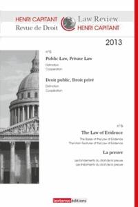 Collectif - Revue de Droit Henri Capitant N° 5-6 2013 : .