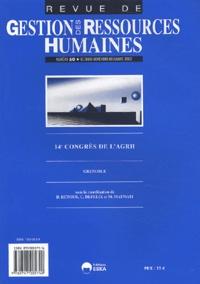 Didier Retour et Christian Defelix - Revue de Gestion des Ressources Humaines N° 50, Octobre-novem : 14e Congrès de l'AGRH - Grenoble.