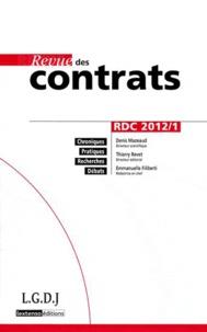 Revue des contrats N° 1, Janvier 2012.pdf
