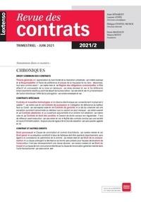 LGDJ - Revue des contrats N° 2/2021 : .