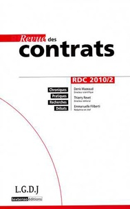 Revue des contrats N° 2, Avril 2010.pdf