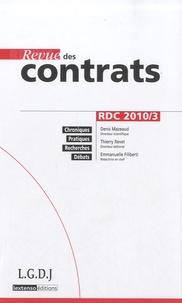 Revue des contrats N° 3, Juillet 2010.pdf