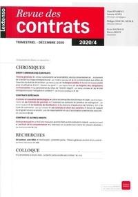LGDJ - Revue des contrats N° 4/2020 : .