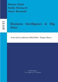Djamel A. Zighed et Gilles Venturini - Revue des Nouvelles Technologies de l'Information B 14 : Business Intelligence & Big Data - 14e Edition de la conférence EDA Tanger, Maroc.