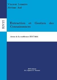 Vincent Lemaire et Jérôme Azé - Revue des Nouvelles Technologies de l'Information  : Extraction et Gestion des Connaissances, EGC42021.