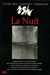 Philippe Bonnefis et Jean-François Lyotard - Revue des Sciences Humaines N° 248 : La Nuit - Rencontres du Littoral II.