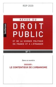 Yves Gaudemet - Revue du droit public et de la science politique en France et à l'étranger N° 1, janvier-févrie : Le contentieux de l'urbanisme.