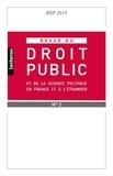 LGDJ - Revue du droit public et de la science politique en France et à l'étranger N° 2, 2019 : .