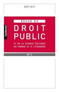 Revue du droit public et de la science politique en France et à létranger N° 2, 2019.pdf