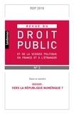 LGDJ - Revue du droit public et de la science politique en France et à l'étranger N° 3/2018 : .