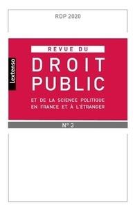 Yves Gaudemet - Revue du droit public et de la science politique en France et à l'étranger N° 3, mai-juin 2020 : .