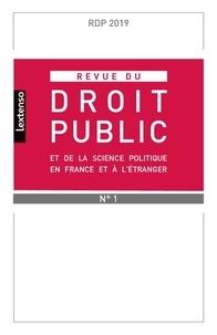 LGDJ - Revue du droit public N° 1, mars 2019 : .