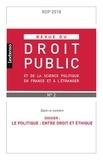 LGDJ - Revue du droit public N° 2, mai 2018 : .