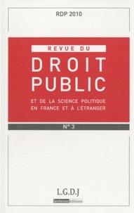 Revue du droit public N° 3, Mai-juin 2010.pdf