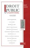 Jacques Robert et Jean-Pierre Camby - Revue du droit public N° 4, Juillet-août 2 : .