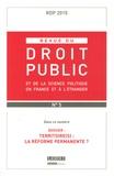 Yves Gaudemet - Revue du droit public N° 5, septembre-octo : Territoire(s) : la reforme permanente ?.