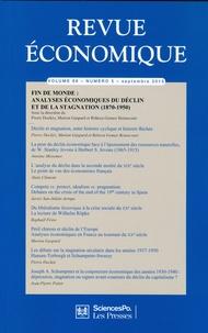 Pierre Dockès et Marion Gaspard - Revue économique Volume 66 N° 5, Sept : Fin de monde : analyses économiques du déclin et de la stagnation (1870-1950).
