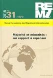 Jacques Barou et Micheline Labelle - Revue européenne des migrations internationales Volume 31 N° 2/2015 : Majorité et minorités : un rapport à repenser.