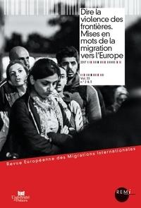 Revue européenne des migrations internationales Volume 33 N° 2 & 3/2.pdf