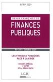 Michel Bouvier et Eric Woerth - Revue française de finances publiques N° 108 Octobre 2009 : Les finances publiques face à la crise.