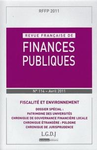 Revue française de finances publiques N° 114, avril 2011.pdf