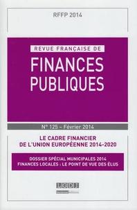 Revue française de finances publiques N° 125, février 2014.pdf