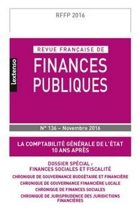 Revue française de finances publiques N° 136/2016.pdf