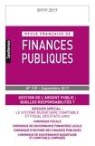 LGDJ - Revue française de finances publiques N° 139 : .