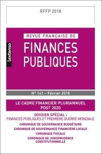 Revue française de finances publiques N° 141/2018.pdf