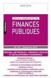 LGDJ - Revue française de finances publiques N° 143, septembre 20 : Régions, métropoles : finances locales et développement économique.