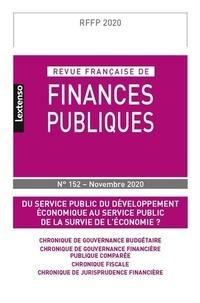 LGDJ - Revue française de finances publiques N° 152, novembre 202 : .