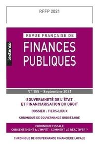 LGDJ - Revue française de finances publiques N° 155, septembre 20 : .