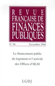 Revue française de finances publiques N° 96, Novembre 2006.pdf