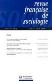 Hugues Lagrange et Jean-Louis Pan Ke Shon - Revue française de science politique N° : Varia.