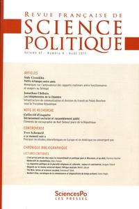 Yves Déloye - Revue française de science politique Volume 67 N° 4, août : .