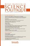 Sciences Po - Revue française de science politique Volume 67 N°6 : .